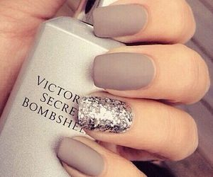 matte, nails, and tumblr image