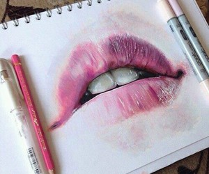 art and lips image