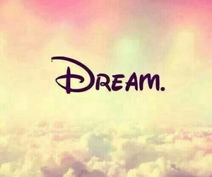 Dream, disney, and clouds image