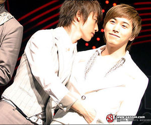 donghae, sungmin, and super junior image