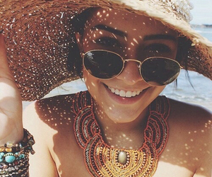 summer, beach, and vanessa hudgens image