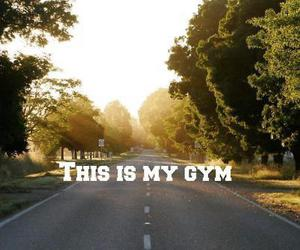 fitness, gym, and road image