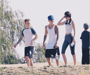justin bieber, kendall jenner, and jendall image