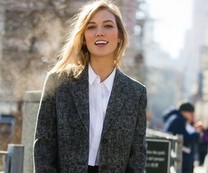 Karlie Kloss, model, and outfit image