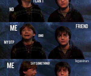 harry potter, funny, and true image