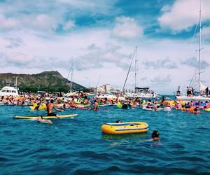 adventure, vacation, and hawaii image