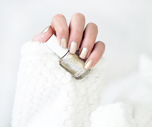 fluffy, nails, and gold image
