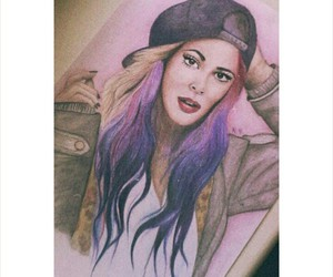 dessin, draw, and martina stoessel image