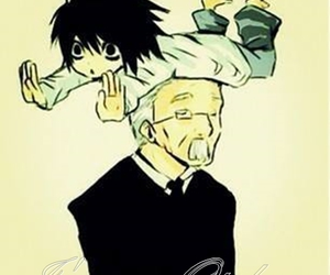 anime, cute, and death note image