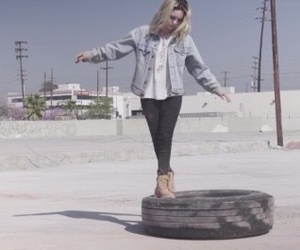 bea miller and fire and gold image