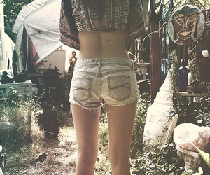 girl, shorts, and legs image