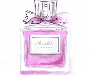 perfume and watercolor image