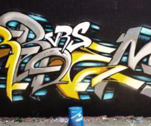 art, colors, and graffiti image