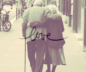 love, couple, and forever image
