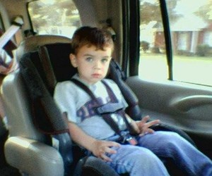 hayes grier and baby image