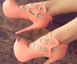 heels, cute, and orange image