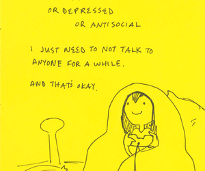 accurate, happy, and introvert image