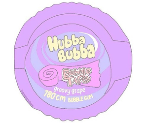 overlay, hubba bubba, and gum image