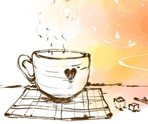 coffe, coffee, and wallpaper image