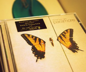 brand new eyes, cd, and paramore image