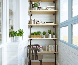 balcony, design, and interior image