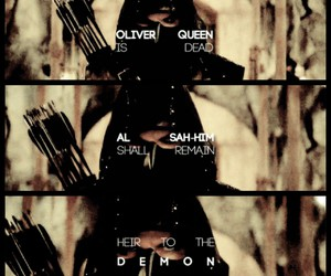 arrow, oliver queen, and the fallen image