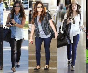 style, hale, and lucy hale image