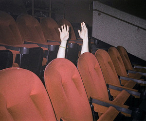 hands, cinema, and grunge image