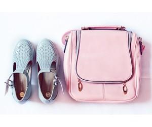 bag, fashion, and pink image