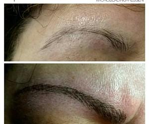 beauty, eyebrows, and microblading image