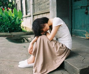 asian girl, photo, and tenderness image