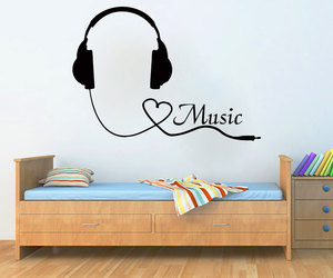 home decor, murals, and music image