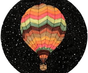 balloon and stars image