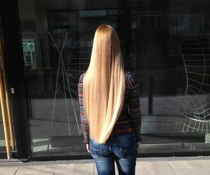 hair, long, and perfection image