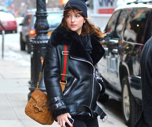 dakota johnson, fashion, and outfit image