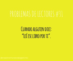 books, lectores, and problemas de lectores image