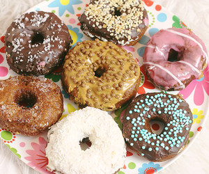 blog, donut, and food image