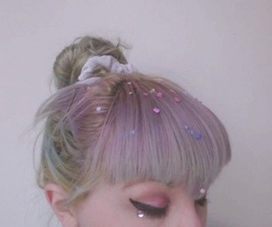 girl, hair, and pale image