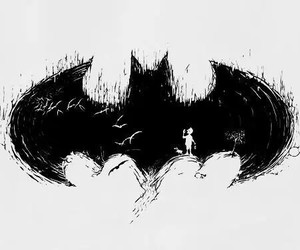 batman, black, and black and white image