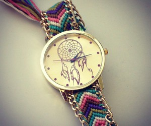watch and dreamcatcher image
