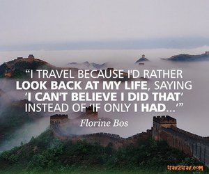believe, travel, and look back image