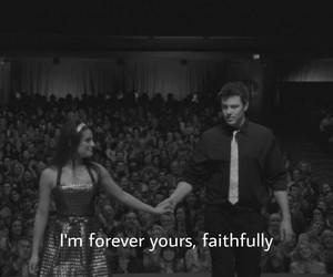 quote, cory monteith, and glee image