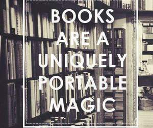 book, magic, and quote image