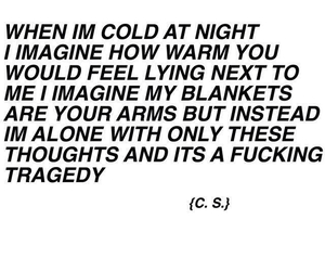 sad, poem, and grunge image