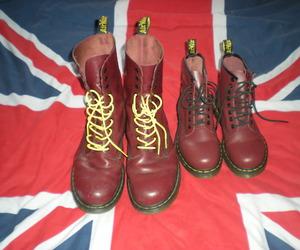 boots, fashion, and union jack image