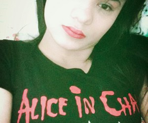 alice in chains, aic, and girl image