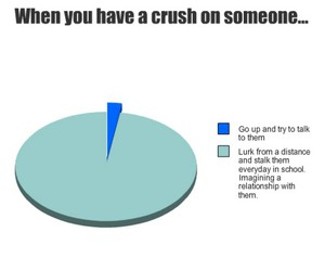 crush, funny, and true image