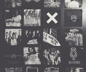 arctic monkeys, bands, and black image
