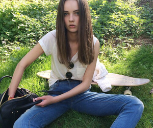 girl, fashion, and pale image