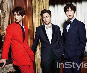 exo, kyuhyun, and suho image
